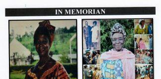 Mémorial - Bangangté célèbre Mafeu Ketcha Wamen Pauline