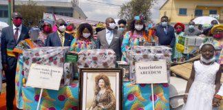 Cercle des amis du Cameroun Les échos de Chantal Biya dans la Menoua